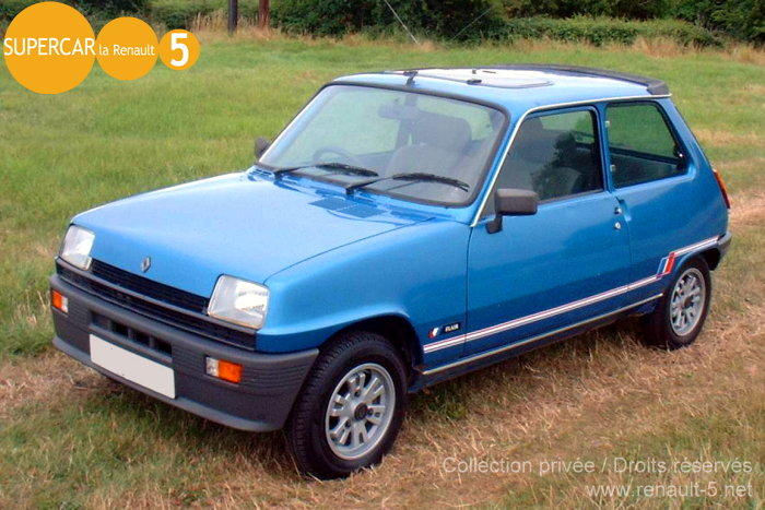 Renault 5 FLAIR :: All about Renault 5