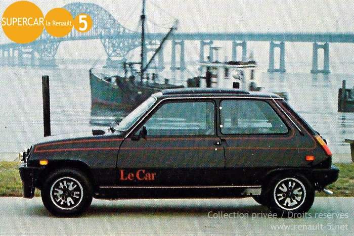 renault 5 black beauty all about le car