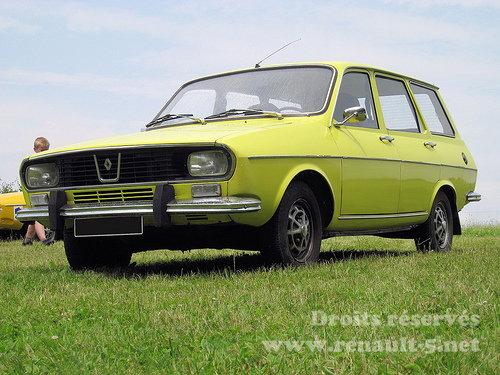 Renault 12 on fiat 500 club