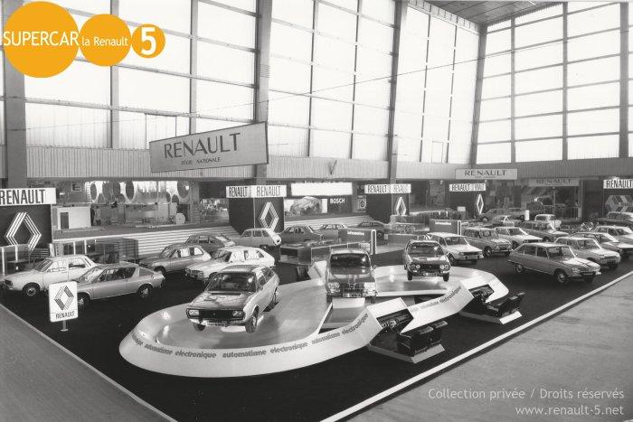 Pr sentation de la renault 5 tout sur la renault 5 for Salon de paris auto