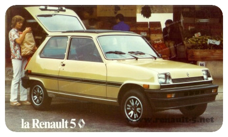 Renault 5 Quot Le Car Quot 1980 All About Renault 5
