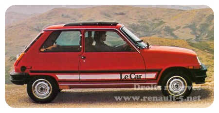 renault le car 1981 all about renault 5
