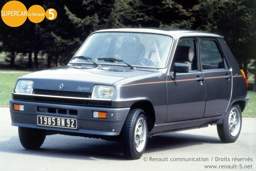 R5 Laur 233 Ate Gtl 85 Tout Sur La Renault 5
