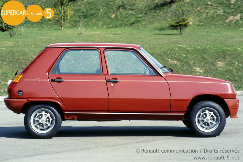 1984 Renault 5 Tl Related Infomation Specifications