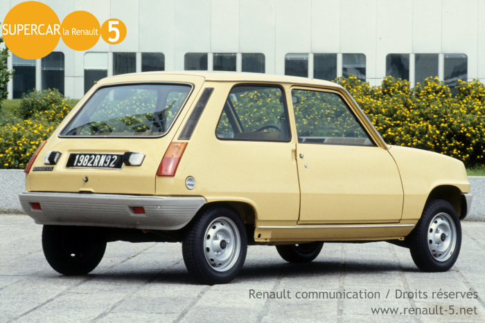 1980 Renault 5 Tl Related Infomationspecifications Weili
