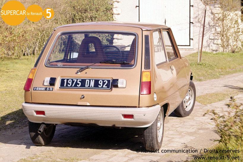 Renault 5 turbo 2 r5 alpine turbo car pictures - Renault 5 Ts 1975 1981 Tout Sur La Renault 5
