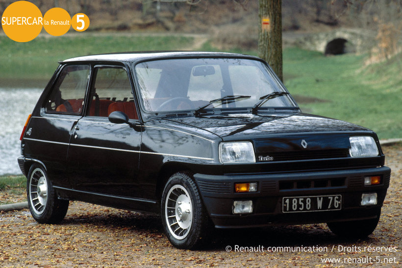 tout sur la renault 5 renault 5 alpine turbo. Black Bedroom Furniture Sets. Home Design Ideas