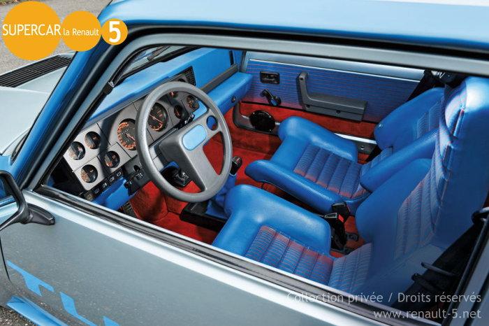 Toutsur la renault r5 renault 5 turbo 1 r5 for Renault super 5 interieur